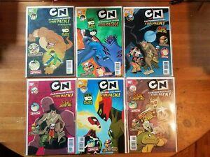 Cartoon Network Comics Lot 1