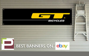 GT Bicycles Banner PVC Sign for workshop, garage, GT Mountain Bike