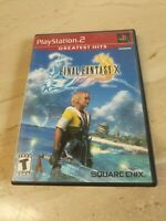 Final Fantasy X PlayStation 2 PS2