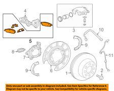 GM OEM Brake-Rear-Disc Brake Pads 84176464