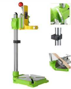 Adjustable Hand Drill Press Bench Stand Workbench  Pillar Clamp Drilling Tool