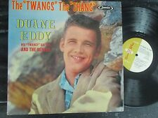 "DUANE EDDY AND THE REBELS THE ""TWANG"" THE ""THANG"" JAMIE 70-3009 SURF ROCK N ROLL"
