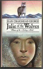Vintage 1985 Julie Of The Wolves Jean Craighead George Paperback Book Newbery