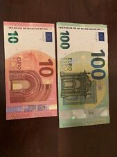 100 + 10 Euro Banknote. 110 Euros Total. Cir. Banknotes. 100 Euro 2019 Series