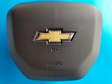2019 19-20 CHEVY SILVERADO 1500 AIR BAG AIRBAG LH LEFT DRIVER WHEEL JET BLACK