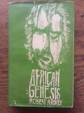 Readers Union vintage copy African Genesis by Robert Audrey Hardback Dustjacket