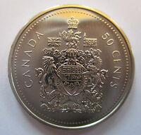 2002P CANADA 50 CENTS SPECIMEN HALF DOLLAR COIN