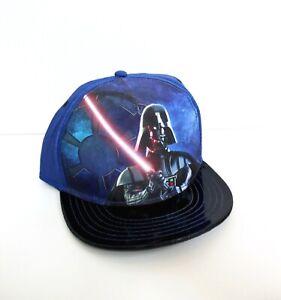 Star Wars Darth Vader Snapback Baseball Hat One Size - Blue