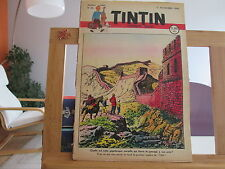 JOURNAL DE TINTIN N°46 3EME ANNEE BE/TBE 1948 SORTI DE RELIURE