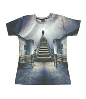 Stairway to the Stars T-Shirt (stars art painting cool all over print t shirt)