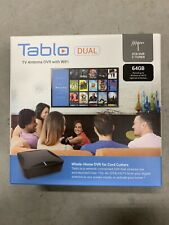 New listing Tablo Dual Dvr 64Gb (not Lite Version) Read Description For Info