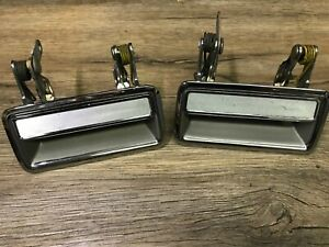 1981-1989 LINCOLN TOWN CAR CONTINENTAL NOS FORD DOOR HANDLE SET EOVB-5422468-A