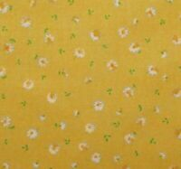 Tiny Flower Calico Mary Anne Henderson Forget Me Not Cotton Quilt Fabric BTY