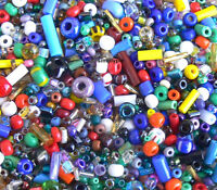Assorted Czech Glass Seed Beads 10-Grams Crow Tube Square Rectangle +More!
