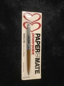 Papermate Ballpoint Pen Brown & Silver Profile Pen Regular  New In Pack Not Slim