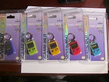 NINTENDO GAME BOY COLOR TIME BOY COLOR KEY CHAIN IN SIX COLORS.BRAND NEW.