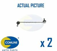 2 x NEW COMLINE FRONT DROP LINK ANTI ROLL BAR PAIR OE QUALITY CSL7055