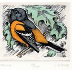 ORIOLE by L (LUCIUS) DUBOSE SIGNED & NUMBERED 128/200 LIMITED EDITION ART PRINT