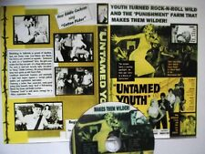DVD-R  - UNTAMED YOUTH  FREE POSTAGE