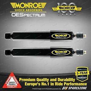 Rear Monroe OE Spectrum Shock Absorbers for VW Golf VI V PQ35 GTi R32 Jetta 1KM
