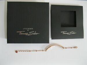 Thomas Sabo Love Bridge Rose Gold Plated 925 Silver Dot / Ball Bracelet BNWOT
