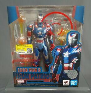 S.H. Figuarts Iron Patriot Iron Man 3 BANDAI SPIRITS Japan NEW***