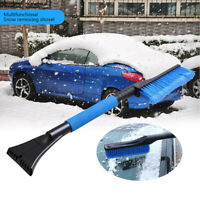 Car Windscreen Ice Scraper Snow Removal Shovel Brush Broom Extendable Clean Tool