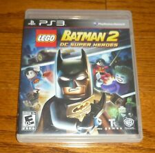 Sony PlayStation PS3 Lego Batman 2 DC Super Heroes video game, used, guaranteed