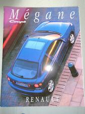 Renault Megane Coupe GAMA FOLLETO prestigio junio 1996
