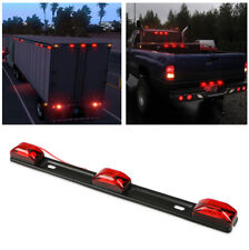 NEW 9 Led Car Truck Trailer Rear Back lights Red Clearance Side Marker Lamp Bar