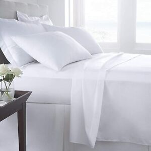 Flat Bed Sheet 800 Thread Count 100% Egyptian Cotton Hotel Quality Flat Sheet
