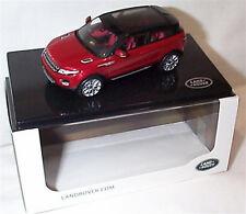Range Rover Evoque 3 Door Firenze Red Dealer model 1-43 New Ixo Branded