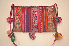 Excellent Antique Ceremonial Coca Bag Really Beautiful ANDES INDIAN PFF1020