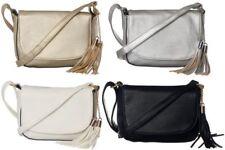 Bolsa de hombro señoras de cuerpo transversal sobre Borla Bolso de mano cartera de mensajero de mujer