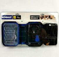 Kobalt 73-Piece Hobbyist Screwdriver Bit Set Drones RC PC Phones Repair Tool Kit