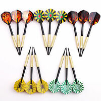 5 sets(15 pcs) of Plastic Soft Tips Darts 10g for Electronic Dartboard Safety US