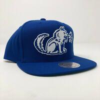 New Mitchell & Ness Toronto Huskies NBA Retro Blue Adjustable Snapback Cap Hat