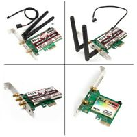 PCIE 1X Wireless wifi lan network card 150Mbps 300Mbps 450Mbps 1167Mbps adapter