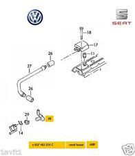 NEW GENUINE VW GOLF SEAT IBIZA LEON 2.0 GTI 16V VENT HOSE 037103231C