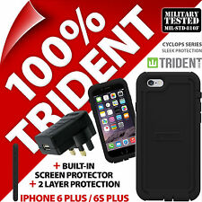 Trident Cyclops Funda Protectora Para iPhone 6 Plus/6S Plus + USB Cargador de red