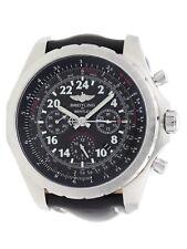 Breitling Bentley 24H Lemans Chrono AB0220 Black Calf Strap Watch AB022022/BC84