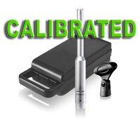 Calibrated Behringer ECM8000 measurement microphone
