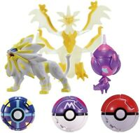 Pokemon Set 3 Mini Figurine 6cm Pokedel-Z Ultra Dx Pocket Monsters Moncolle Ex