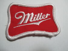 Miller Beer, Vintage NOS,Original Embroidered Patch 2 3/4 x 2 INCHES