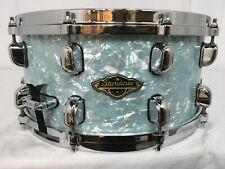 "Tama Starclassic Walnut/Birch 14"" Dia.X 6.5"" Deep Snare Drum/Ice Blue Pearl/New"