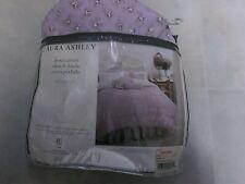 LAURA ASHLEY Jessie Lilac Floral Shower Curtain Fabric Purple
