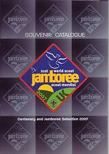 2007 World Scout Jamboree OFFICIAL SCOUTS SHOP SOUVENIR CATALOGUE