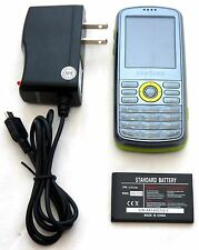 Samsung SGH-T459 T-Mobile Slider Style Cell Phone Gravity GREEN Qwerty Text -C-
