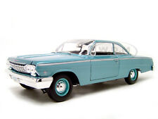 1962 CHEVROLET BEL AIR TURQUOISE 1:18 DIECAST MODEL CAR BY MAISTO 31641