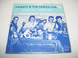 """Johnny & The Hurricanes - Red River Rock * 7"""" viny RARE HOLLAND 1985 *"""